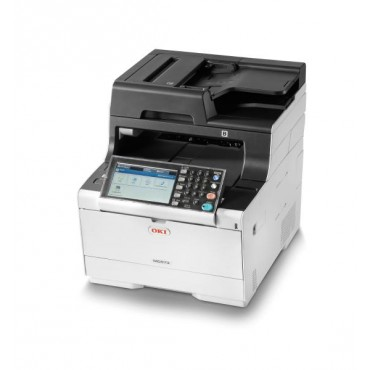 OKI MC573dn Colour A4 30 - 30ppm Network AirPrint, Google Cloud Print, Duplex 350 sheet +options