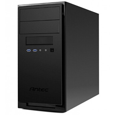 """Antec Micro ATX Case: Micro ATX/ Mini-ITX, A Solid case built with Quality. USB 3.0 x 2, 12.5"""""""