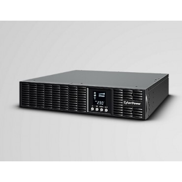 CYBERPOWER Online S 1000VA/ 900W Rackmount UPS - 12V/ 7AH*3 - (6) IEC C13 USB & Serial Port &