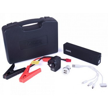 Laser PB-CJ12000 12000mah Emergency Power with Clippers for Car Battery