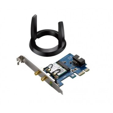 ASUS PCI-E Adapter: AC1200 WiFi PCI-E Card With Bluetooth 4.0 Support