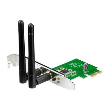 ASUS PCI-E Adapter: N300 Wireless, with LP bracket