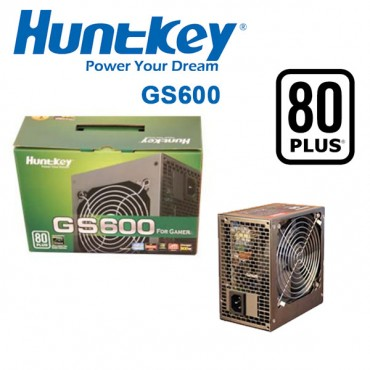 HUNTKEY GS600 POWER SUPPLY 600W 80 PLUS SILENT PSUHUNGS600