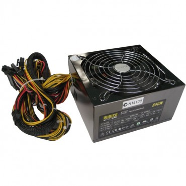 PowerCase 850W 140mm Fan Power Supply PSUPOW850WMAX14