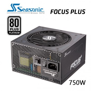 SEASONIC SSR-750PX FOCUS PLUS 750W 80 + PLATIUM Power Supply PSUSEA750PXFOCUS