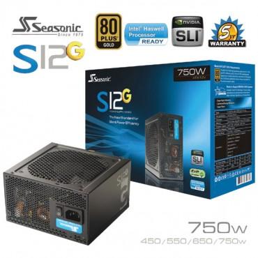 Seasonic S12G series 750W PSU 80Plus PSUSEAS12G-750W
