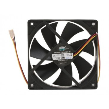 CoolerMaster Case Fan: SI1 120mm Silent Operation FAN. Sleeve Bearing for durability and enhance