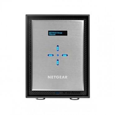 Netgear ReadyNAS 526X - Desktop Network Storage 10GBase-T, 6-Bay Diskless RN526X00-100AJS