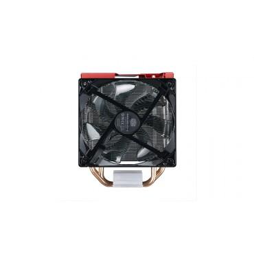 Cooler Master CPU Cooler: HYPER 212 LED TURBO, 2x 120mm RED LED Fan, LGA 2011/ 1366/ 115x/ 775,