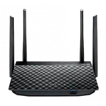 ASUS Router: AC1200 Dual-Band Wireless Gigabit Router, Mu-MIMO/ USB 3.0, 4x Antenna RT-AC58U