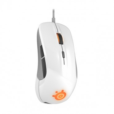 SteelSeries White Rival 300 6500DPI RGB Gaming Mouse SS-62354