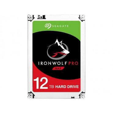 "SEAGATE IRONWOLF NAS PRO INTERNAL 3.5"" SATA DRIVE 12TB 6Gb/ s 7200RPM 5YR WTY ST12000NE0007"