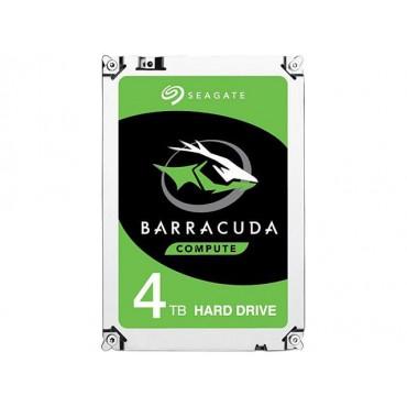 """Seagate SATA 3.5"""" DRIVE: 4TB BarraCuda Desktop SATA3 6GB/ s 256MB ST4000DM004"""