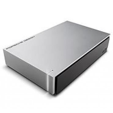 LACIE 4TB Porsche Design USB 3.0 Desktop Drive - Light Grey STEW4000400