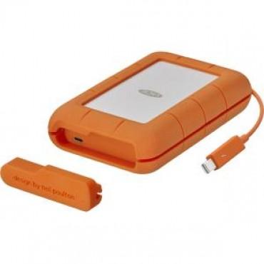 LACIE 2TB Rugged 2.5 IN THB+USB C 3.1 THB / USB-C / C to A cables incl STFS2000800