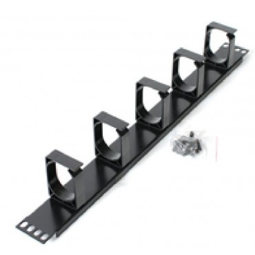 Astrotek 1U Rack Mount Cable Management Metal Panel ATP-CM1U-M
