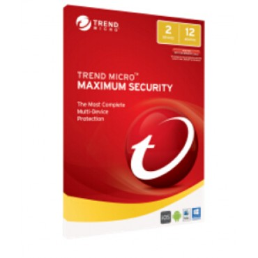 TREND MICRO TM Maximum Security 2017 (1-2 Devices) 12 month Add-On TICEWWMBXSBJEO