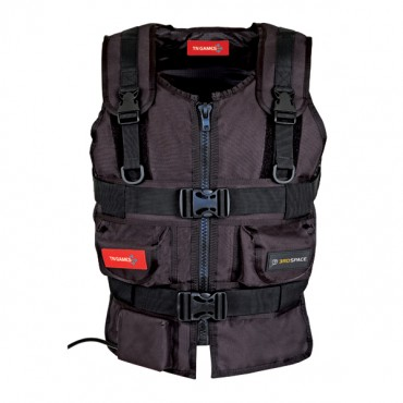 TN Games 3RD Space Gaming Vest Black Large TN-Vest-Blk-L