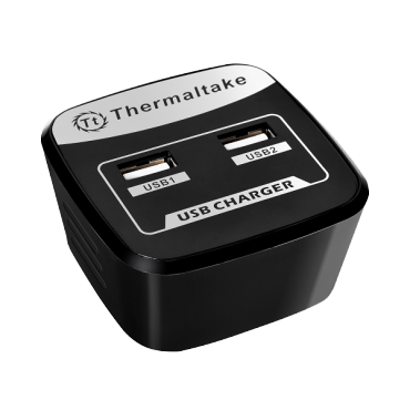 Thermaltake TriP Dual USB AC Charger TT-AC0020