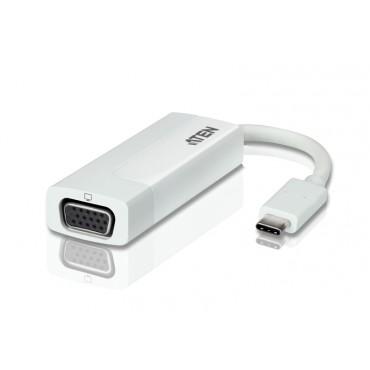 Aten (UC3002-AT) USB-C VGA 2K Adapter (USB 3.1, Thunderbolt. USBC) UC3002-AT