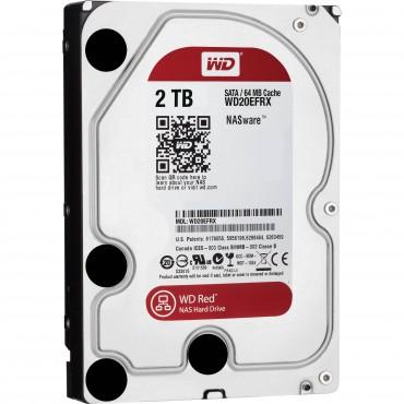"Western Digital NAS 3.5"" DRIVE: : 2TB RED SATA3 6Gbs 64M Intellipower NAS WD20EFRX"