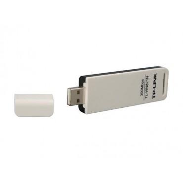 TP-Link Wireless N USB Adapter, 300mbps, 2T2R, 2.4Ghz, 802.11n TL-WN821N