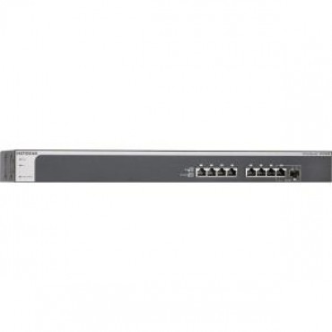 NETGEAR PROSAFE PLUS XS708E 8-PORT 10-GIGABIT ETHERNET WEB MANAGED SWITCH WITH 1X SFP+ COMBO PORT XS708E-200AJS