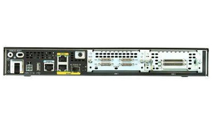 Cisco ISR 4221 wired router Black