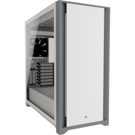 Corsair 5000D Tempered Glass Mid-Tower, White (CC-9011209-WW)