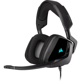 Corsair Void Rgb Elite Usb Premium Gaming Headset With 7.1 Surround Sound Carbon Ca-9011203-Ap