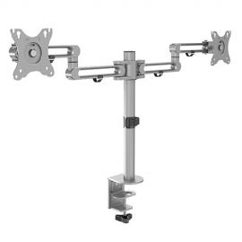 4Cabling Dual Monitor Premium Aluminum Articulating Monitor Bracket 012.001.1012