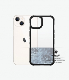 PanzerGlass SilverBullet ClearCase for iPhone 13 - Slim Fashionable Design, Anti-bacterial, Enhance Protection 0319