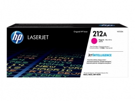 HP 212A MAGENTA TONER - APPROX 4.5K PAGES - FOR M554, M555, M558 SERIES W2123A