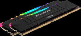 Crucial Ballistix RGB 32GB Kit DDR4-3200 Desktop Gaming Memory (BL2K16G32C16U4BL)