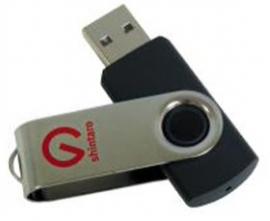 Shintaro 16gb Rotating Pocket Disk Sh-r16gb
