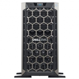 "DELL T440 TWR, SILVER-4210R(1/2), 16GB(2/16), 1TB SATA 3.5""(1/8), 495W(1/2), H730P+,3Y NBD 4ET4400803AU"