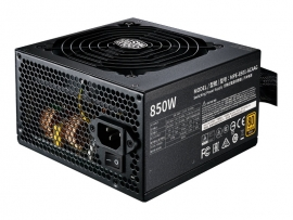 COOLERMASTER MWE 850W GOLD V2 MODULAR, FULLY MODULAR CABLE DESIGN, 80 PLUS GOLD, COMPACT S