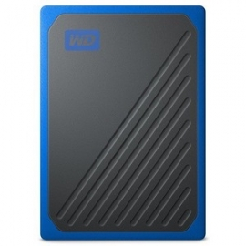 WD MY PASSPORT GO PORTABLE SSD 2TB USB 3.0 SPEEDS UP TO 400 MB/S WDBMCG0020BBT-WESN
