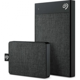 Seagate 500GB Ultra-Small BACK UP ONE TOUCH BLACK SSD (STJE500400)
