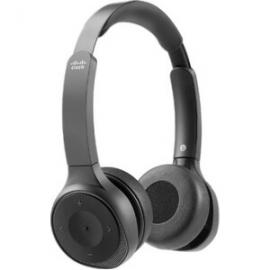 Cisco 730 Wireless DualOn-ear Headset USB-A Bundle - Carbon Black (HS-WL-730-BUNA-C)