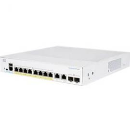 Cisco CBS350 MANAGED 8-PORT GE FULL POE 2X1G COMBO CBS350-8FP-2G-AU