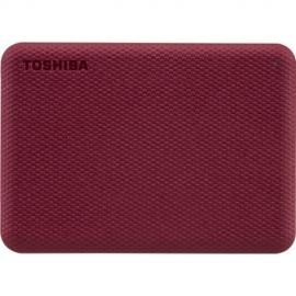 Toshiba CANVIO ADVANCE V10 USB 3.0 PORTABLE EXTERNAL HARD DRIVE 2TB RED HDTCA20AR3AA