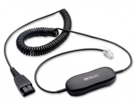 Jabra Smart Cord Amplified Corduniversal Amplified Cord For All Headsetenabled Telephones. Increases