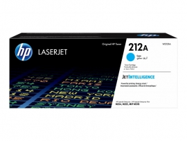HP 212A CYAN TONER - APPROX 4.5K PAGES - FOR M554, M555, M558 SERIES W2121A