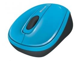 MICROSOFT WIRELESS MOBILE 3500 SERIES USB OPTICAL MOUSE - RETAIL BOX (CYAN BLUE) GMF-00275