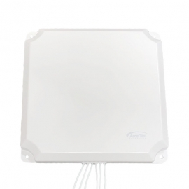 ACCELTEX 2.4/5 GHZ 13 DBI 6 ELEMENT INDOOR/OUTDOOR PATCH ANTENNA WITH RPSMA ATS-OP-245-13-6RPSP-36