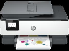 HP OFFICEJET 8010E AIO PRINTER18PPM, PRINT SCAN COPY. DUPLEX, WIFI, ADF. 228G2D