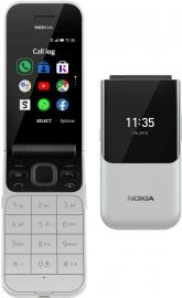 Nokia 2720 4G Flip Phone Grey- 2.8' Screen, 4GB RAM, Qualcomm® 205, 512MB RAM, Excellent Durability And Timeless Design,1500 mAh battery (16BTSD21A05)