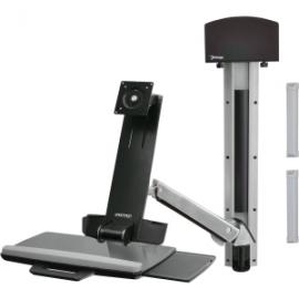 Ergotron Sv Sit Stand Combo Arm, No Worksurface, Polished 45-266-026