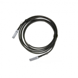 MELLANOX PASSIVE COPPER DAC CABLE, ETHERNET 100GBE, QSFP28, 0.75M, BLACK, 30AWG, CA-N MCP1600-C00BE30N